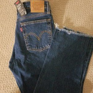NWT Levi's Wedgie Fit Straight Leg Jean